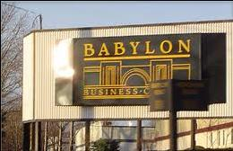 Sign for Babylon Business Campus Horsham PA