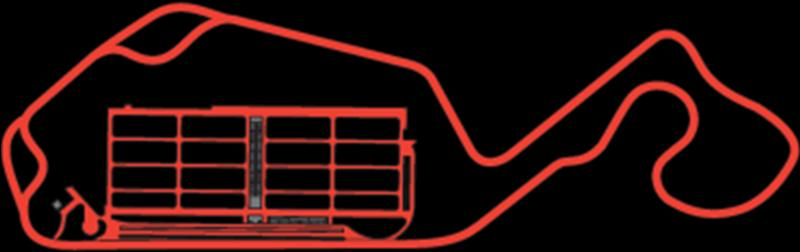 diagram of New Jersey Motor Sports Thunder Track